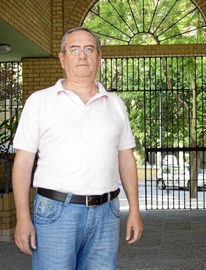Manolo Peña, presidente vecinal de la asociación Barrios del Juncal.