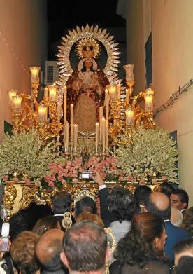 Procesión de la Virgen de Gracia de Gelves.