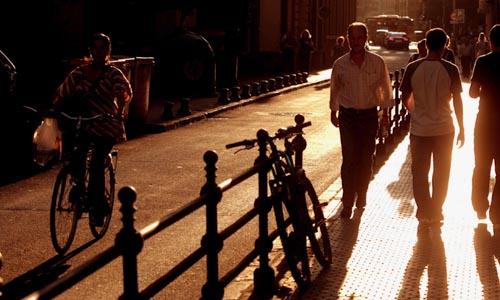 Calle Escuelas Pías, que permanecerá cerrada este mes.