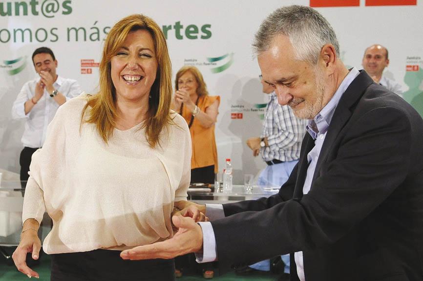 """GRIÑÁN: """"EL PSOE-A ESTA AHORA MÁS UNIDO Y CON UN LIDERAZGO RENOVADO"""""""