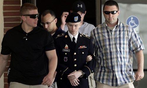El soldado Manning.