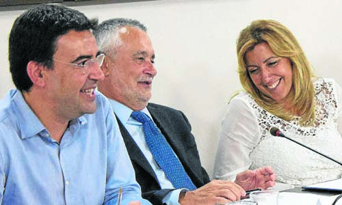 Reunion PSOE Andaluz