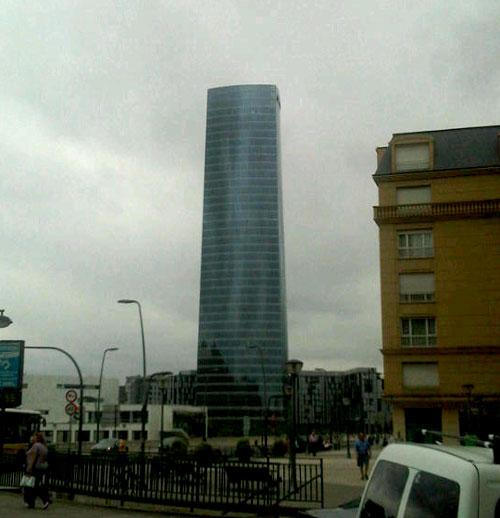 La torre Pelli de Bilbao