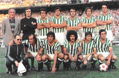 El Betis de la 76-77, campeón de Copa, es el último precedente.