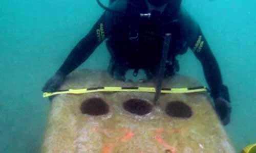 El Gobierno de Gibraltar lanzó al mar bloques de hormigón que impiden la pesca en la zona.