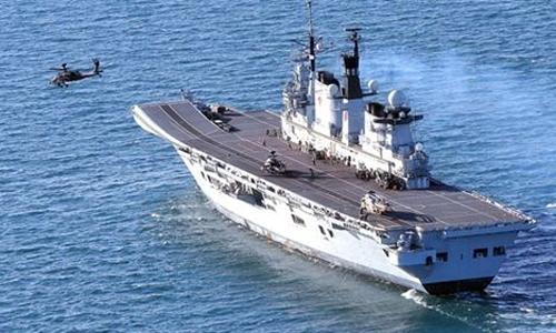 El buque que marcha camino de Gibraltar.