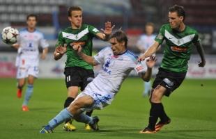 Imagen del Sigma Olomouc-Jablonec jugado este domingo / Gambrinus Liga