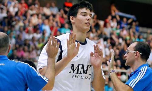 'Willy' Hernangomez. / R.Madrid