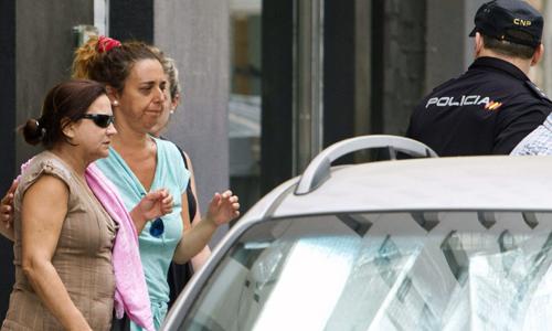La mujer y madre de las dos personas fallecidas en Cádiz.