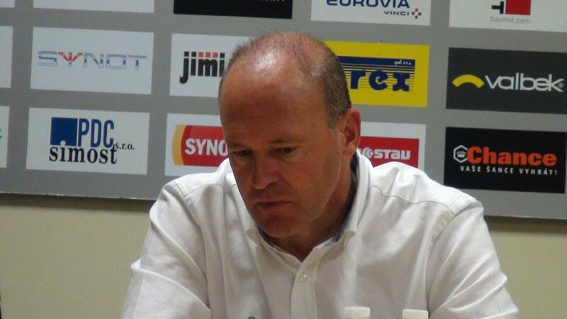 Pepe Mel, en la rueda de prensa tras el partido / Ond?ej Zlámal