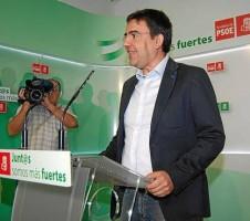 El vicesecretario general del PSOE-A, Mario Jiménez.