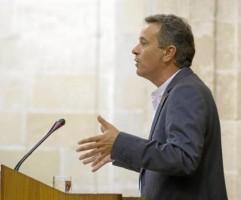 El portavoz de IU, José Antonio Castro