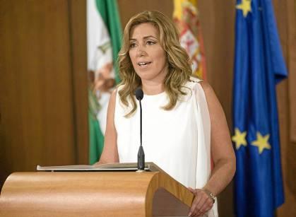 Susana Díaz toma posesión de su cargo como presidenta de la Junta de Andalucía