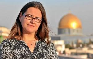 """La periodista sevillana """"por raíces y crianza"""" Carmen Rengel trabaja actualmente de freelance en Oriente Medio. // Mikel Marín"""