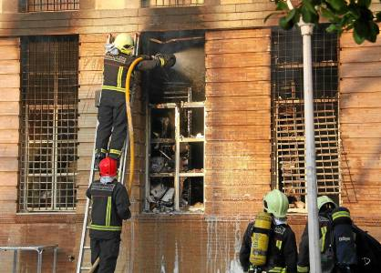 incendio archivo Los palacios
