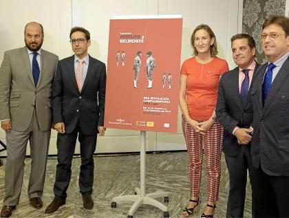 María del Mar Sánchez Estrella presentó ayer la muestra en el Hotel Gran Meliá Colón.