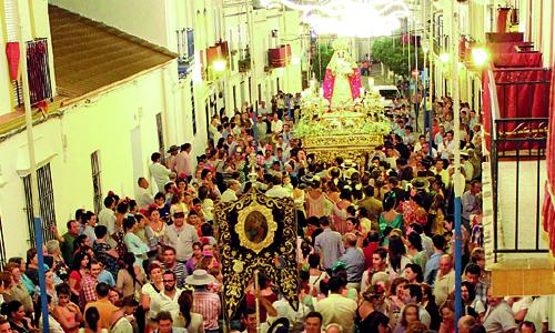 Burguillos procesion patrona