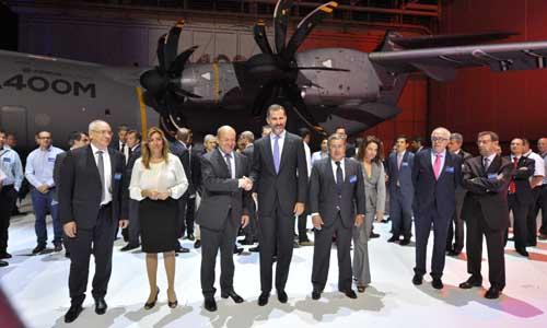 Sevilla 30 09 2013: Primera entrega del A400M Airbus militaryFOTO:J.M.PAISANO