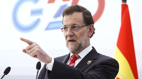 Mariano Rajoy, durante la cumbre del G20 en San Petesburgo. / Reuters