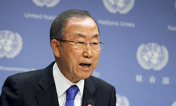Ban Ki-Moon. / Reuters