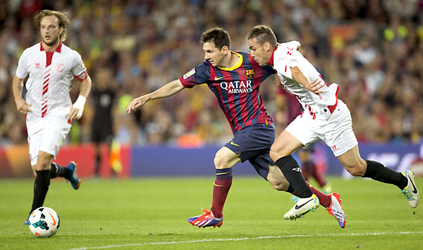 FC Barcelona - Sevilla FC. / EFE