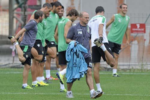 Entrenamiento Real Betis Balompié.