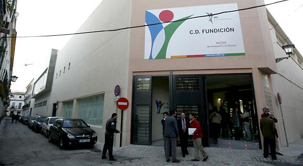 Centro deportivo La Fundición. / José Manuel Cabello