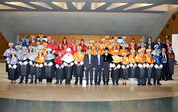 La Universidad de Loyola inaugura el curso 2013-2013 con la presencia de las autoridades y responsables educativos del centro.