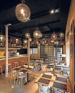 Nueva etapa de un moderno bar de tapas for Disenos de bares rusticos