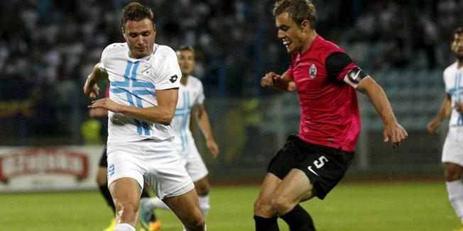 Un lance del partido entre el Rijeka y el Lokomotiva / Tea Cimas (Cropix)