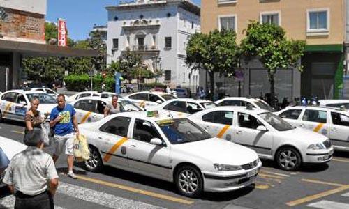 Parada taxi