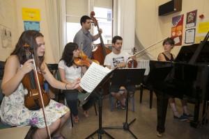 Cinco jóvenes intérpretes, cinco historias unidas estos días por el Festival Joaquín Turina. / J. M. Espino (Atese)