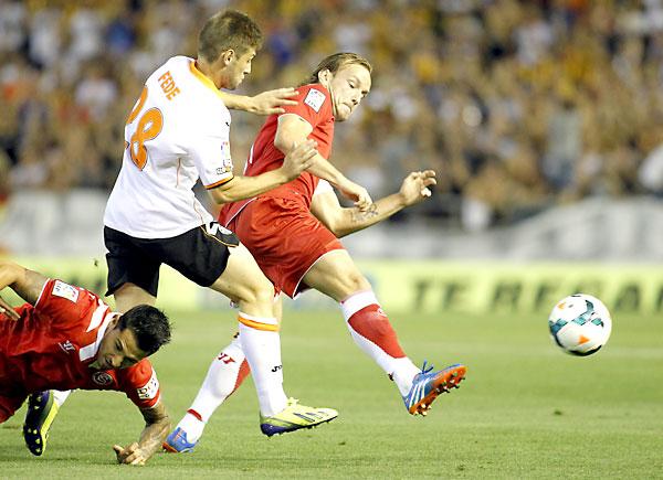 Valencia CF - Sevilla FC. / Marcamedia