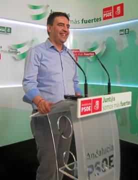 El vicesecretario general del PSOE andaluz, Mario Jiménez..