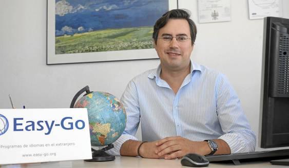 Sergio Guzmán está al frente de Easy-Go. J.M. ESPINO (ATESE)