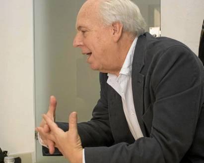 Eduardo Mendicutti, un novelista que bebe de la realidad y de la anécdota. / Manu R. R. (Atese)