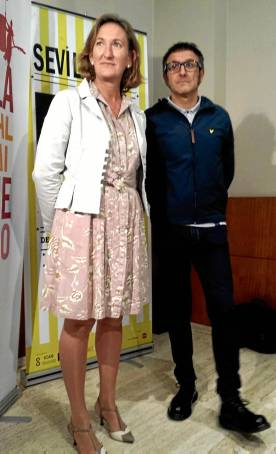 María del Mar Sánchez Estrella y José Luis Cienfuegos adelantan datos del SEFF