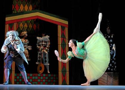 Un momento del espectáculo que ofrecerá en Sevilla el Ballet Nacional de Cuba.