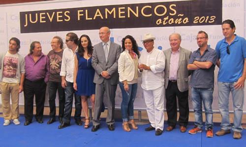 Presentación de los 'Jueves Flamencos' de Cajasol.