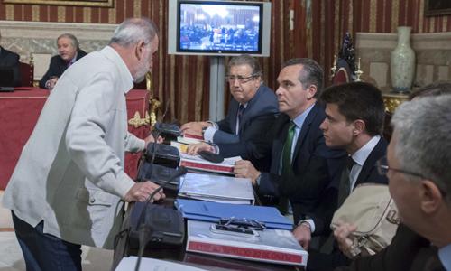 Un momento del pleno del Ayuntamiento de Sevilla. / J.M. Paisano (ATESE)
