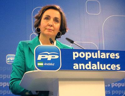 Ana Corredera, vicesecretaria general del PP andaluz.
