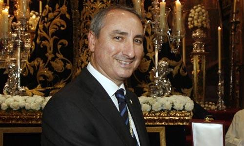 El ya exhermano mayor de la Estrella, Manuel Domínguez del Barco.