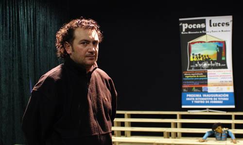 El director del teatro de Écija que ha dimitido.