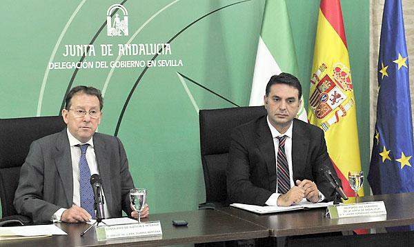 De Llera y Francisco Javier Fernández. / E.P.