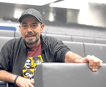 Francisco Grande, jefe técnico del musical.