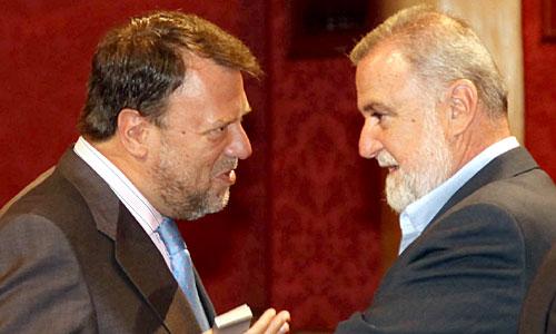 Alfredo Sánchez Monteseirín y Antonio Rodrigo Torrijos. / Paco Puentes