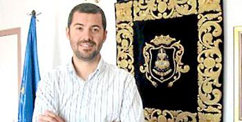 Jesús María Sánchez, alcalde socialista de la localidad de Pilas.