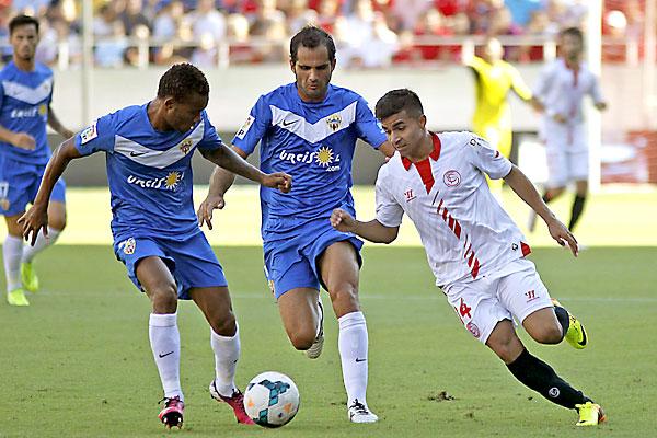 Sevilla FC - UD Almería. / EFE