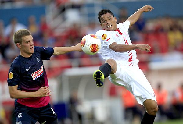 Sevilla FC - Friburgo. / Reuters