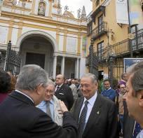 Sevilla 10 11 2013: Votaciones Macarena  FOTO:J.M.PAISANO